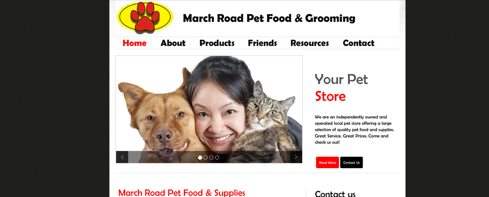 March Road Pet Food & Grooming